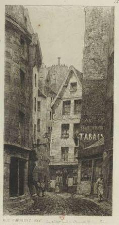 Rue Pirouette, 1866