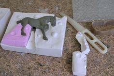 Blackberry Lane Pottery News: Preparing a new plaster mold (Part 3)