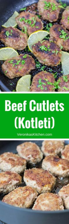 This Beef Cutlets recipe, also known as Kotleti will be great for easy dinner ideas, and a perfect meal for kids. ( cutlets | cutlets recipes | kotleti | kotleti russian | kotleti beef | kotleti recipe | dinner recipes | dinner ideas | easy dinner recipes | easy dinner | dinner recipes easy | patties | patties recipe | russian food | russian recipes | russian) #EasyDinnerRecipes