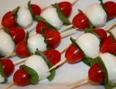 Caprese Salad Kabob Appetizer