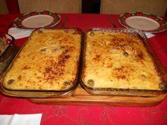 Receita de Bacalhau de forno a portuguesa
