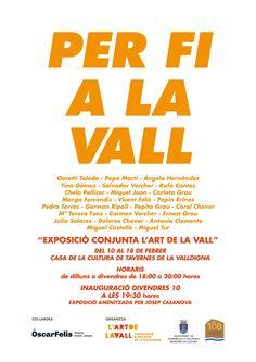 L'Art de la Vall inaugura este divendres una exposició de pintura i ceràmica