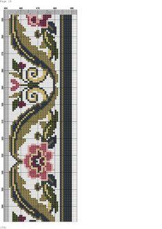 Just Cross Stitch, Cross Stitch Bookmarks, Cross Stitch Borders, Cross Stitch Flowers, Cross Stitch Designs, Cross Stitching, Cross Stitch Embroidery, Cross Stitch Patterns, Halloween Embroidery