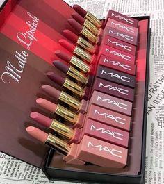 Makeup Haul, Mac Makeup, Beauty Makeup, Lipstick Collection, Makeup Collection, Kylie Gloss, Lipstick Art, Cute Makeup, Makeup Goals