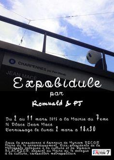 #ExpoBidule c'est la prochaine exposition de Monsieur Bidule à Lyon !