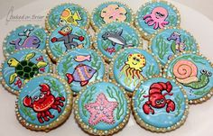 Baby Shower Sea Creatures http://www.flickr.com/photos/89445332@N05/