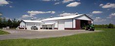 Farm Machine Shops | Farm Building Profile Use: Farm truck utility barn and tool shed cold ...
