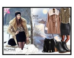 """""""Romwe V-6"""" by azra-90 ❤ liked on Polyvore featuring Vince Camuto and romwe"""