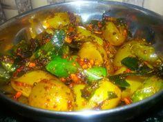 manjuz kitchen: Angur ka achar