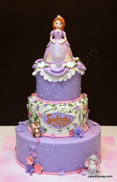 Sofia the First  Cake by CakesbyMaylene