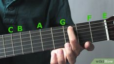 How to Learn All the Notes on the Guitar. Unlike piano keys, there is no obvious repeating pattern to the notes on a guitar. In order to learn chords, riffs, and songs, you will have to first know the names of the notes of the fretboard. Learn Guitar Online, Learn Guitar Beginner, Guitar Chords Beginner, Learn Guitar Chords, Learn To Play Guitar, Guitar For Beginners, Guitar Notes, Music Guitar, Playing Guitar