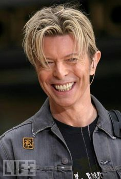 Laughing Bowie