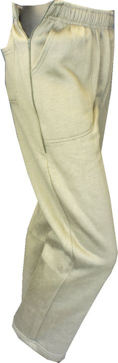 Side Open Zip SWEATPANTS, Adaptive clothing,  elderly clothes, disabled clothes, incontinence pants, Incontinence clothing, Side zipper