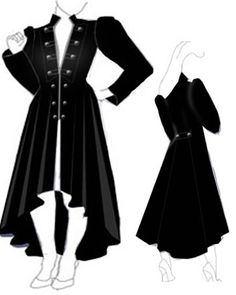Steampunk Velvet coat