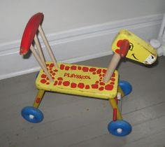 Vintage Playskool Riding Giraffe