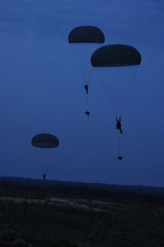 Paratroopers from the Airborne Division participate in the joint operations access exercise. My babe did a majority of his jumps at night, MT/N/CE. No 5 jump commando for my babe! Airborne Army, Airborne Ranger, 101st Airborne Division, Luftwaffe, Paratrooper, Military Police, Military Service, Military Art, Special Ops