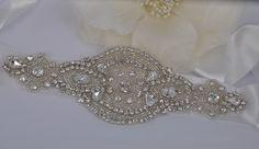 Karlie - Vintage Style Rhinestone Crystals Wedding Belt Sash by labellechanson on Etsy https://www.etsy.com/listing/160960376/karlie-vintage-style-rhinestone-crystals
