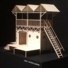 Campo Libero (The Innocent House), mobile pavilion for the reactivation of land confiscated from the mafia. Tabula Rasa, Pavilion, Mafia, Four Square, Contemporary Art, Model, House, Beautiful