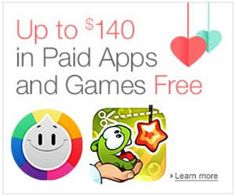 37 FREE Android Apps and Games from Amazon on http://www.icravefreebies.com/