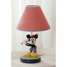 Kids Line Disney Vintage Mickey Lamp Base And Shade Mickey Mouse Lamp, Mickey Mouse Nursery, Disney Nursery, Disney Baby Bedding, Baby Disney, Disney Mickey, Classic Mickey Mouse, Vintage Mickey Mouse, Vintage Disney