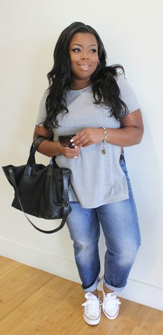 Casual Friday's | Jeans and a Tee | NajaDiamond