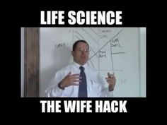 Life Hack, The female matrix and the male chart--This cracks me up!
