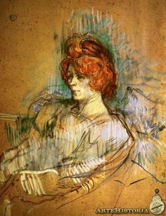 Henri de Toulouse-Lautrec - Seated Woman, 1897 via art storia Henri De Toulouse Lautrec, Portrait Art, Portraits, Dancing Drawings, European Paintings, Famous Art, Elements Of Art, French Art, Figure Drawing