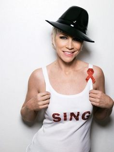 Annie Lennox - a soulful Scottish singer with legendary style.