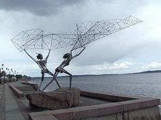 Strange Statues Around The World Stockholm, Statues, True Art, Public Art, Image Photography, Sculpture Art, Modern Sculpture, Amazing Art, Around The Worlds