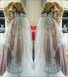 Wedding hairstyle Girls Dresses, Flower Girl Dresses, Wedding Hairstyles, Wedding Dresses, Makeup, Fashion, Flower Girl Gown, Gowns, Dresses Of Girls
