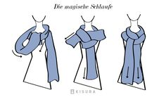 Schals und Tücher binden | Kisura GmbH                                                                                                                                                      Mehr
