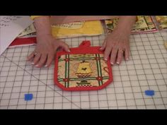 Easy to follow instructions for making an oven mitt. Great project for beginners. Introduces basic quilting techniques.