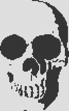 Cross Stitch Skull, Cross Stitch Tree, Cross Stitch Borders, Simple Cross Stitch, Cross Stitch Kits, Cross Stitch Designs, Cross Stitching, Cross Stitch Embroidery, Embroidery Patterns