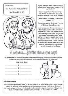 El Rincón de las Melli: 29 de junio: San Pedro y san Pablo, apóstoles (con...