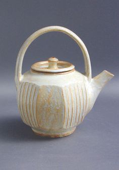 Harvey Young faceted teapot.