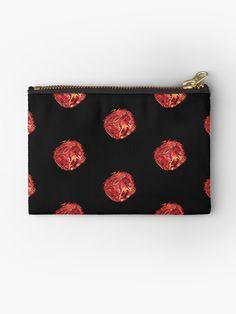 """""""Rott'n"""" Zipper Pouch by Asmo Turunen. #design #zipperpouch #canvaspouch #kangaspussi #meikkipussi #atcreativevisuals"""