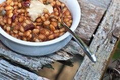 Maple Baked Beans - Vegan