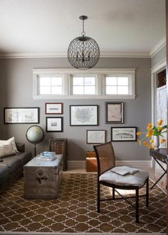 Sherwin Williams Dorian Gray is a medium toned paint colour with greige undertones. The LRV is lower than most