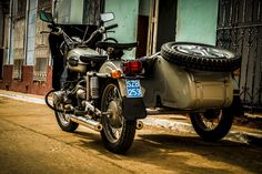 Image result for motorbikes in Cuba