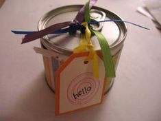 Pop Top Can - Love this idea!!! ♥