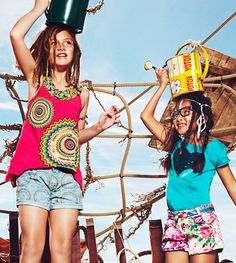 Desigual Girls T-Shirts & Shirts. Find all your Desigual style for kids at http://www.desigual.com