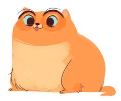 288: Orange Fatty Fat cats are just too cute