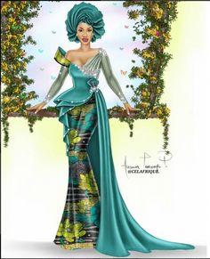 Ankara Xclusive: Tonto Dikeh Stunning Ankara Dress Style That Will Blow Your Mind Ankara Dress Styles, African Lace Dresses, African Fashion Dresses, African Wedding Attire, African Attire, African Wear, African Inspired Fashion, African Print Fashion, Africa Fashion