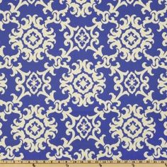 54'' Wide Swavelle/Mill Creek Indoor/Outdoor Arvin Nautical Fabric By The Yard  amazon.com  $8.98