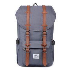 04ce0b1ac7140 Rucksack Damen Handgepäckrucksack Herren KAUKKO Backpack Schulrucksack  KAUKKO 17 Zoll Laptop Rucksack für Notebook Lässiger Daypacks Schultaschen  of 2 Side ...