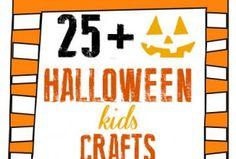ROUND-UP - Halloween Kids Crafts