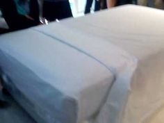 How to Make a Hotel Bed using the triple 3 sheeting method. http://www.wikihow.com/Make-a-Hotel-Bed