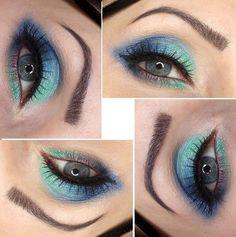 THE SOMETHING BLUE via #brokat #eyes #eyemakeup #eyeshadow #pretty #beauty