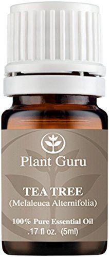Tea Tree (Melaleuca) Essential Oil. 5 ml. 100% Pure, Undiluted, Therapeutic Grade. Sample Size Plant Guru http://www.amazon.com/dp/B011PQCZTG/ref=cm_sw_r_pi_dp_zZaiwb0NJ8RT4
