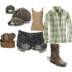 Redneck girl, created by mlynnm on Polyvore